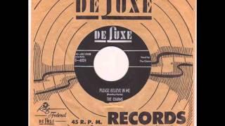 CHARMS - PLEASE BELIEVE IN ME / BYE BYE BABY - DE LUXE 6034 - 1954