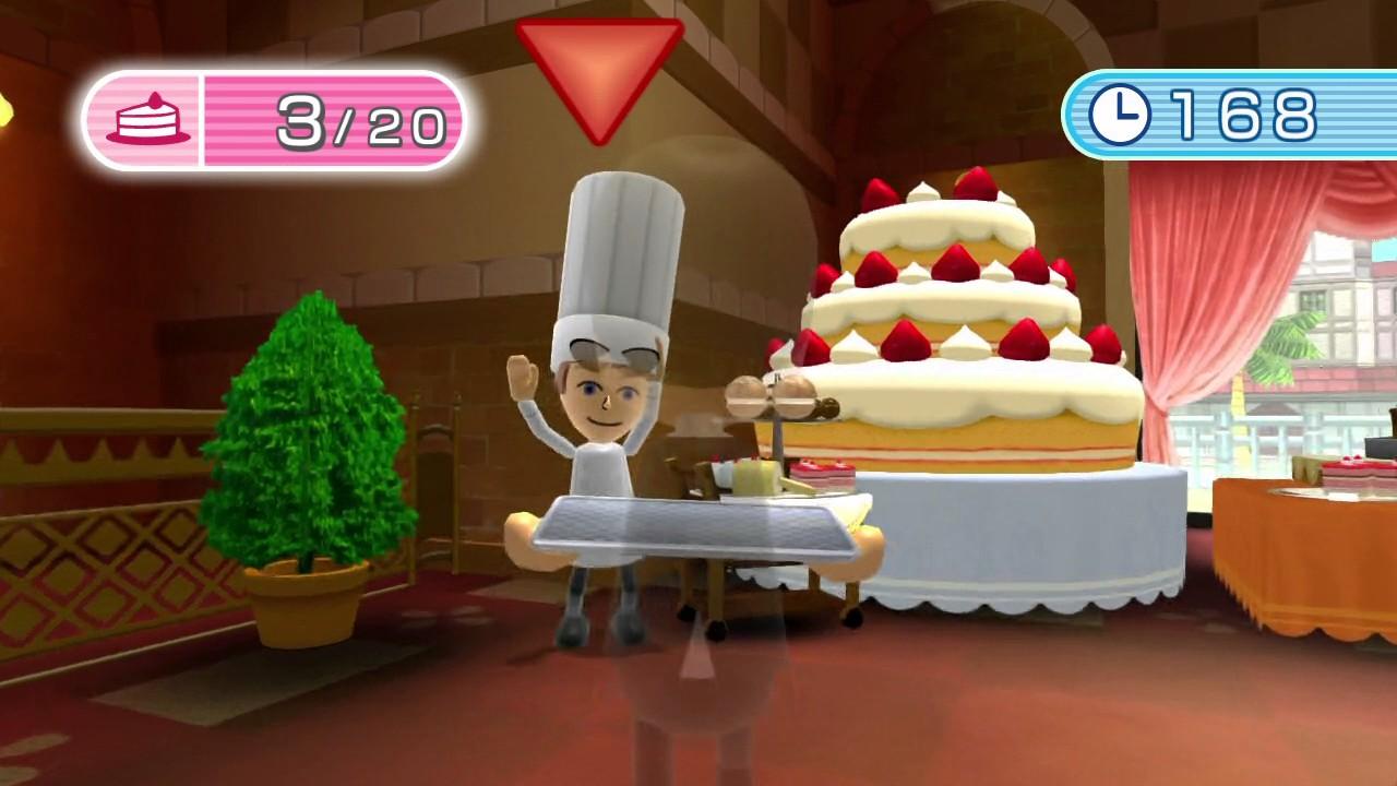 wii fit u dessert course