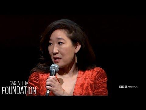 Sandra Oh & Jodie Comer at SAG-AFTRA Foundation | Killing Eve | Sun., April 8 @ 8/7c on BBC America