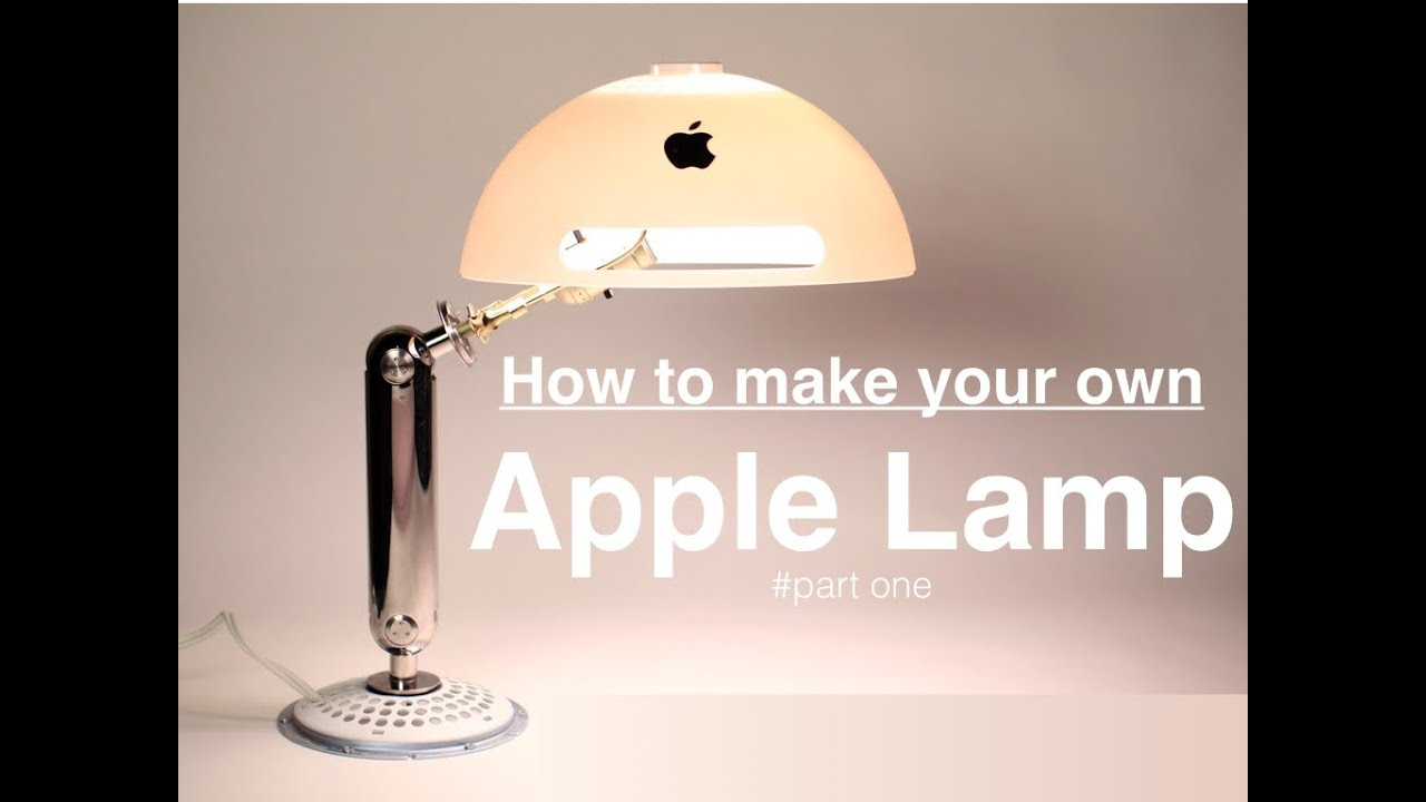 How to make the apple lamp part one youtube aloadofball Gallery