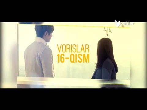 Vorislar koreya seriali 16-qism (o'zbek tilida)
