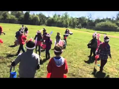 Kyas school Easter egg hunt