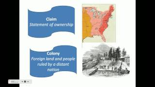 European Settlement in North America