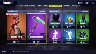 FORTNITE BOUTIQUE August 23 Skins REX - TAGUEUR