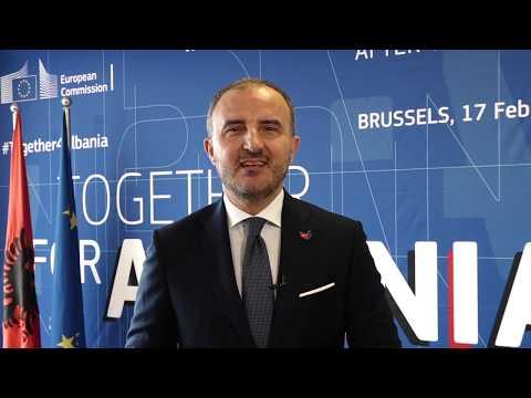 EU Ambassador Luigi Soreca on the opening of accession negotiations with Albania