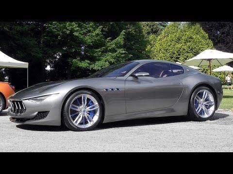 Maserati Alfieri Concept V8 Sound