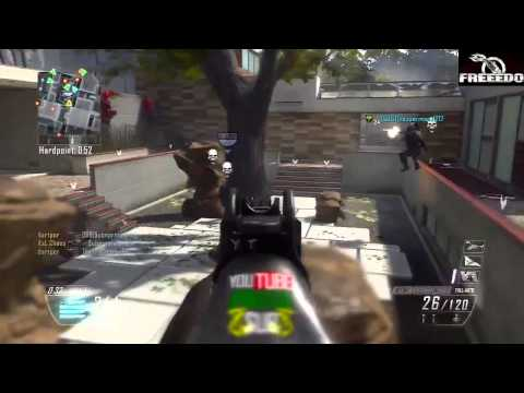 Black Ops 2 - The End of Lag Compensation! (Dual Comm)