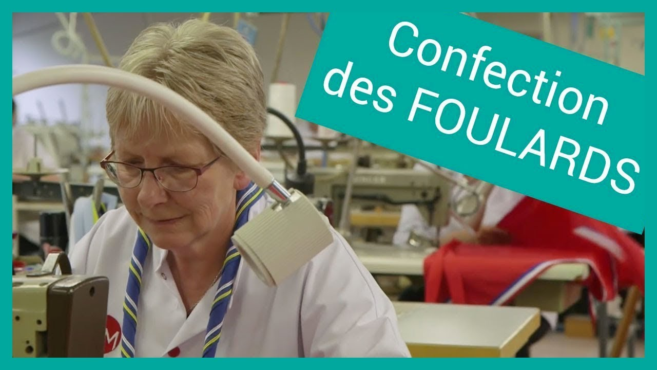 La Confection Des Foulards Scouts Et Guides De France