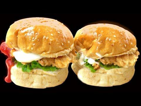 Professional Zinger Burger Kfc Style Chicken Burger Ramzan