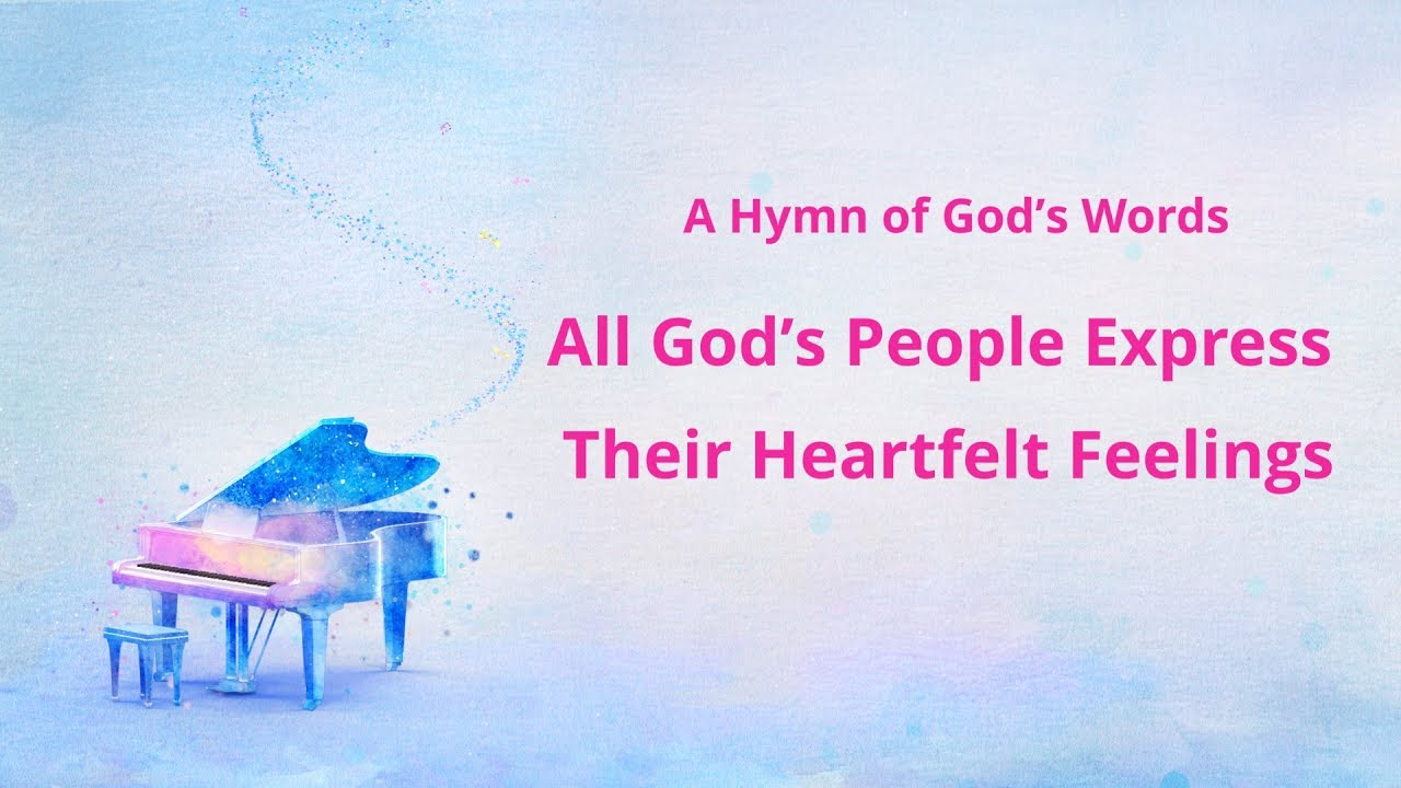 "Inspirational Gospel Song With Lyrics | ""All God's People Express Their Heartfelt Feelings"""
