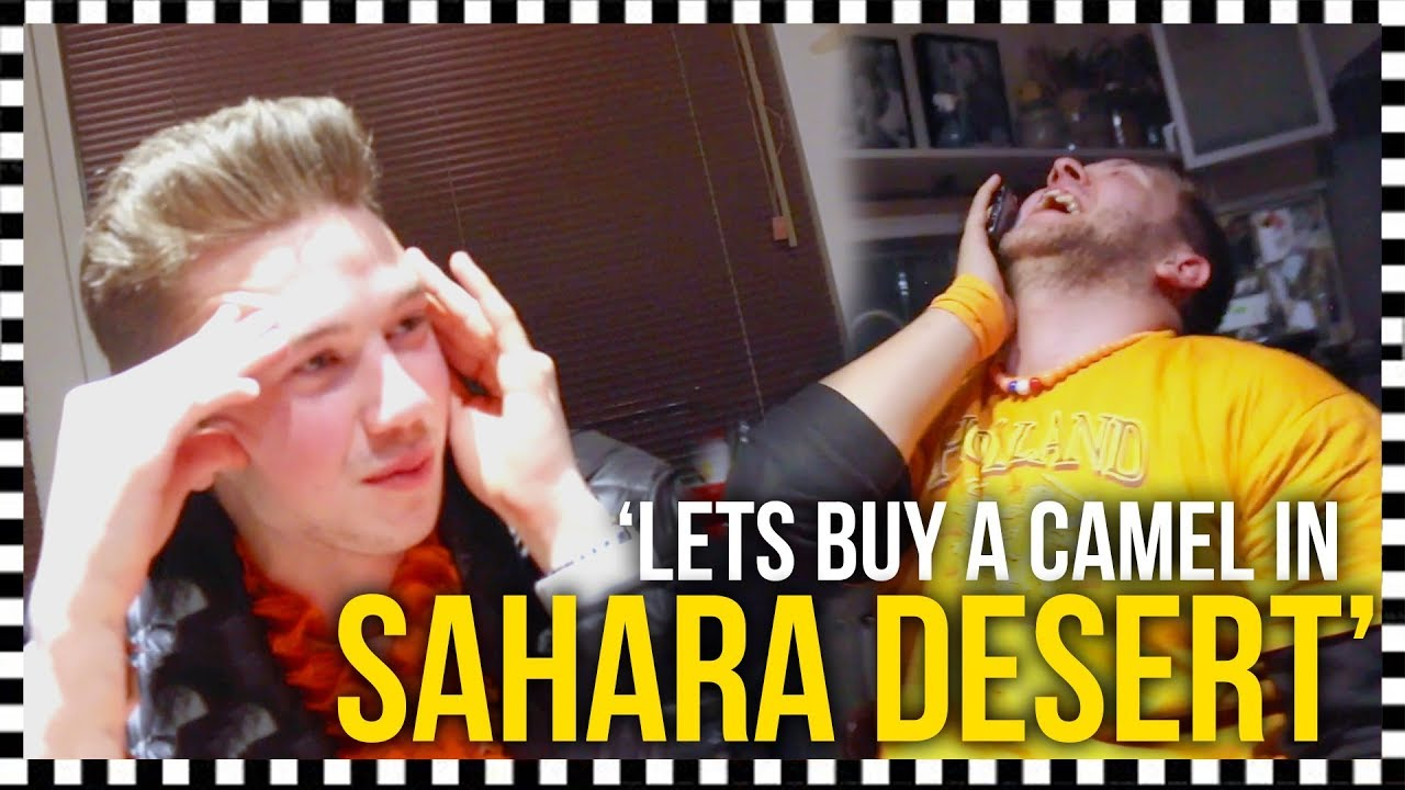 'LETS BUY A CAMEL🐪IN THE SAHARA DESERT' 😂(Extra Video!)