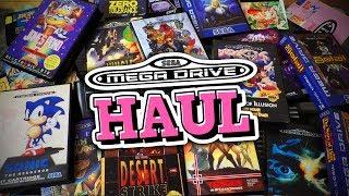17 Sega Mega Drive-Klassiker im 16-Bit Retro Haul! (Unboxing)