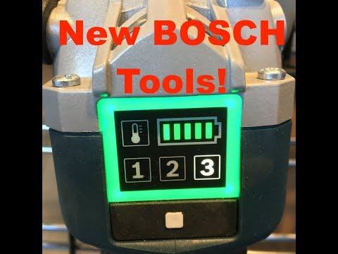 NEW Bosch Tools - Sneak Peak World of concrete