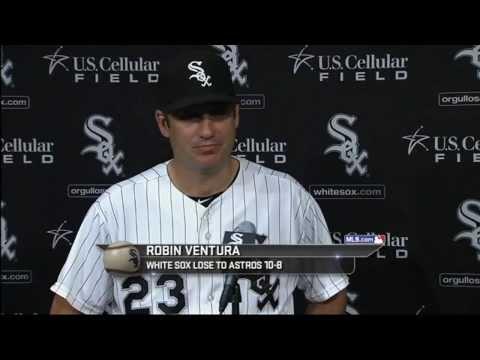 Robin Ventura comenta atuação de Rienzo contra os Astros