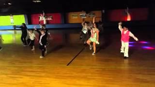 Studio 8 Zombie Nation hip hop routine