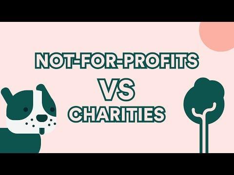Not-For-Profits VS Charities