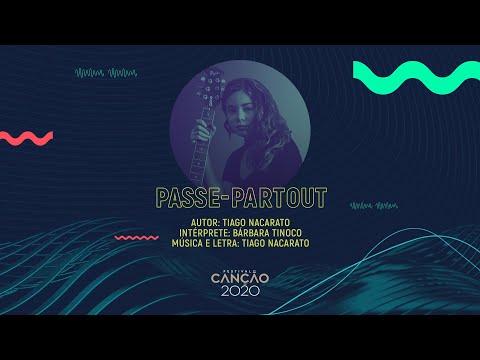 Bárbara Tinoco - Passe-Partout (Lyric Video) | Festival da Canção 2020