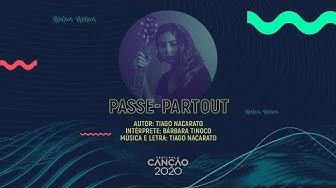 Bárbara Tinoco - Passe-Partout (Lyric Video)   Festival da Canção 2020