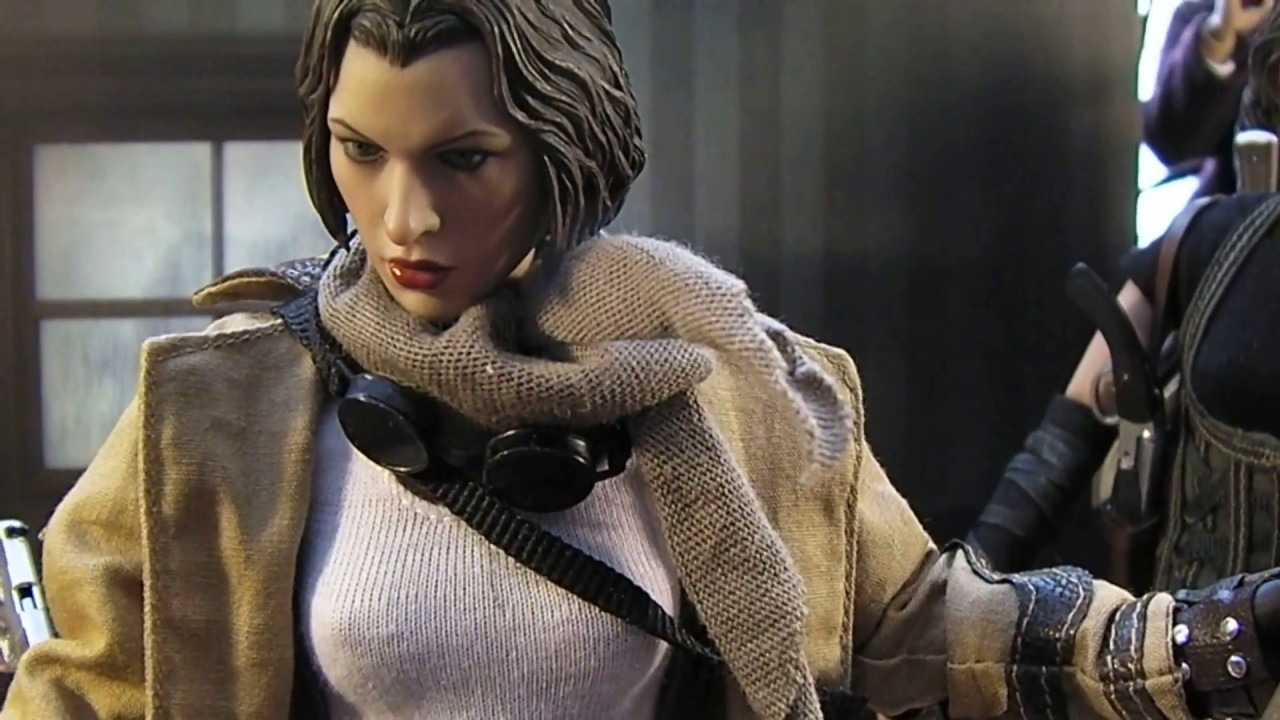 Hot Toys Custom Resident Evil Extinction Alice 12 1 6 Figure