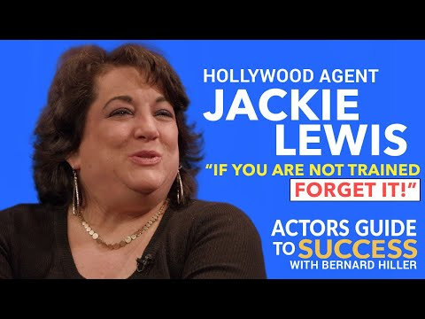 TOP HOLLYWOOD AGENT  |JACKIE LEWIS what to do when you meet an Agent!