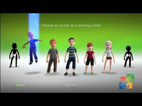 How to create new Gamer Profile on Xbox 360 Console