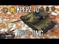 KpfPz 70 - 6100+ Dmg 1 vs 3 - Wot Blitz