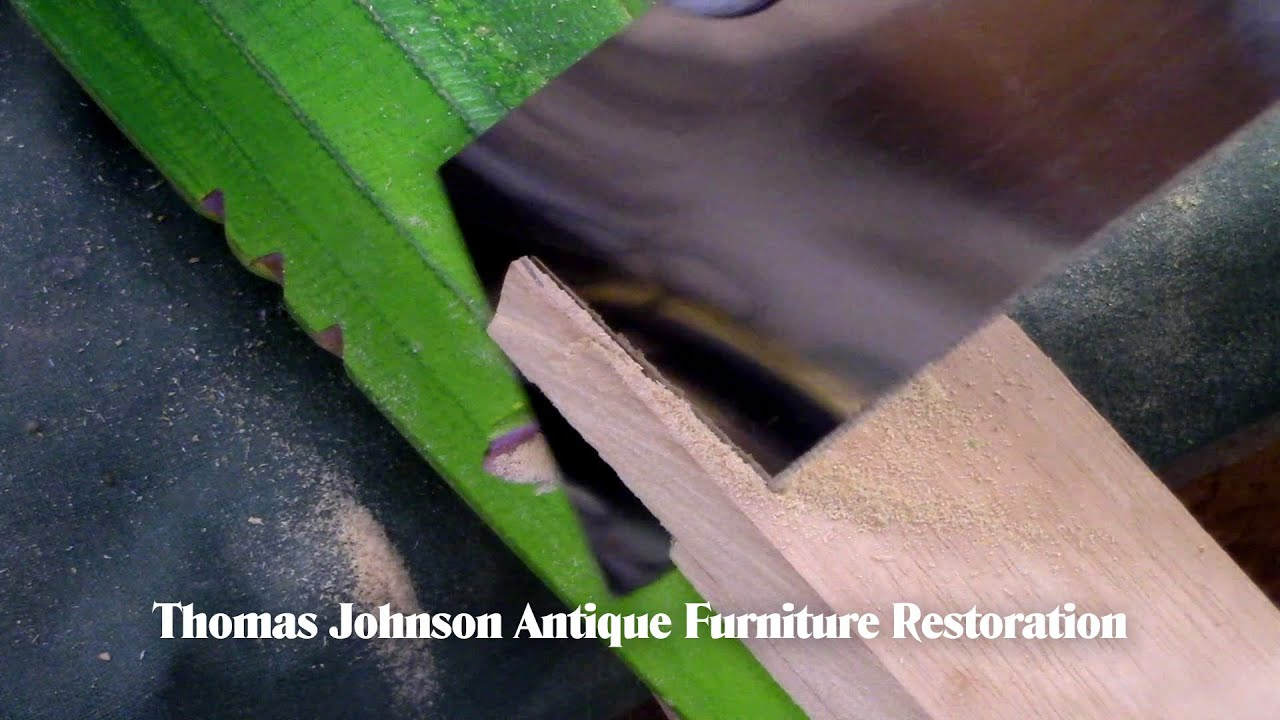 Restoring a Wendy Maruyama Postmodern Studio Piece- Thomas Johnson Antique Furniture Restoration
