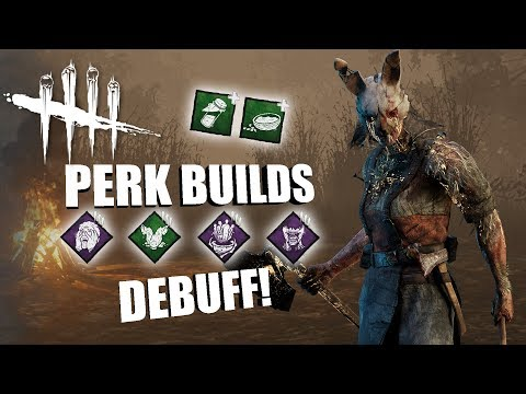 DEBUFF! | Dead By Daylight THE HUNTRESS PERK BUILDS