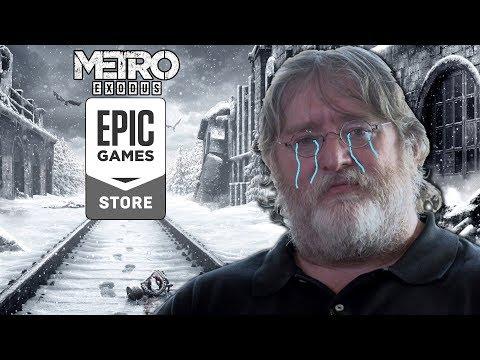 ПАНИКА, STEAM ПОМИРАЕТ? Переход Metro Exodus в Epic Games Store