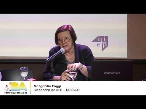 """<h3 class=""""list-group-item-title"""">Margarita Poggi - Demandas diferenciadas hacia el nivel Secundario - Seminario UEICEE</h3>"""