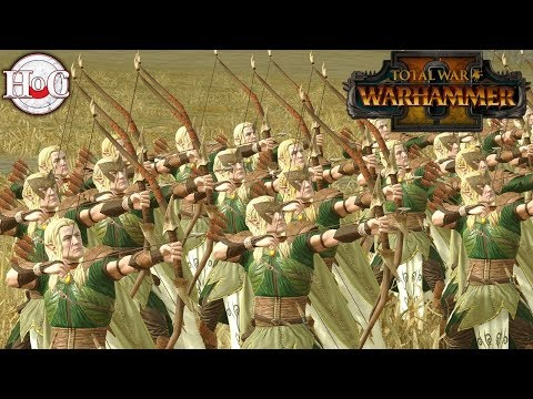 Elvish Civil War - Total War Warhammer 2 - Online Battle 154