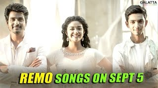 Remo songs on Sept 5