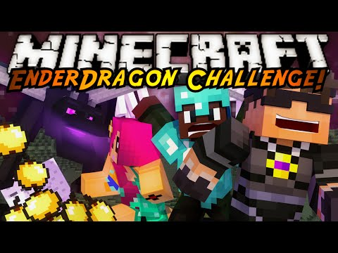 Minecraft : ENDERDRAGON FAN CHALLENGE!