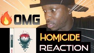 LOGIC - HOMICIDE  (Ft EMINEM) [Audio Reaction]