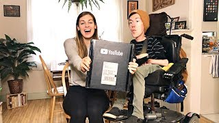 Unboxing Our Silver Creator Award/Playbutton!
