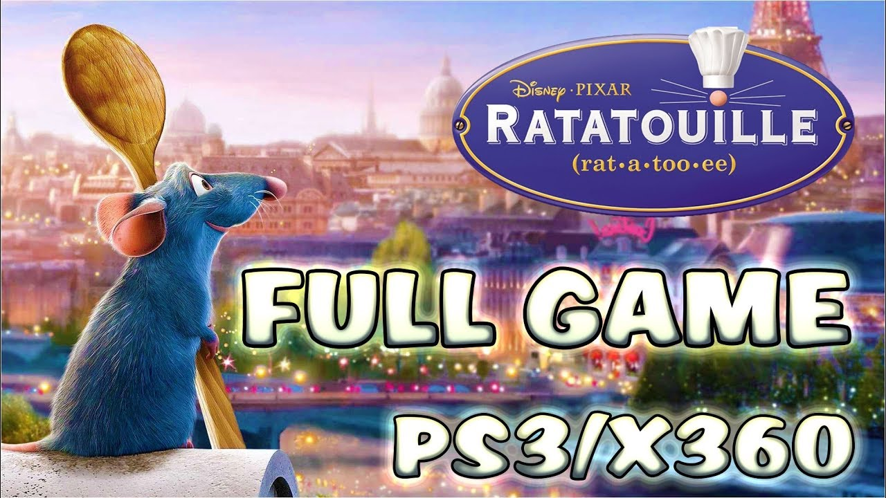 Ratatouille Full Game Longplay Walkthrough Ps3 Xbox 360