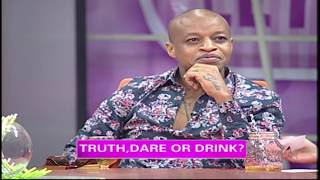 Game: Truth, Dare Or Drink (Raw Eggs) With Prezzo