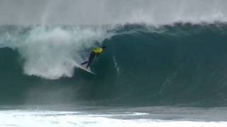 FANTASTIC PRO JUNIOR  SOUTH AUSTRALIA 10 POINT RIDE 6FT BEST BARREL ABSOLUTELY BEAUTIFUL WAVE