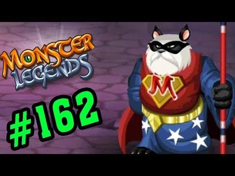 Monster Legends Game Mobiles - Siêu Anh Hùng PandaMan - Thế Giới Quái Vật #162