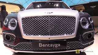 2017 Bentley Bentayga Mulliner - Exterior and Interior Walkaround - 2017 Geneva Motor Show