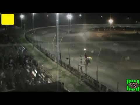 35th Annual Belleville Midget Nationals A-Main | Belleville High Banks | Belleville, KS | 8/4/12