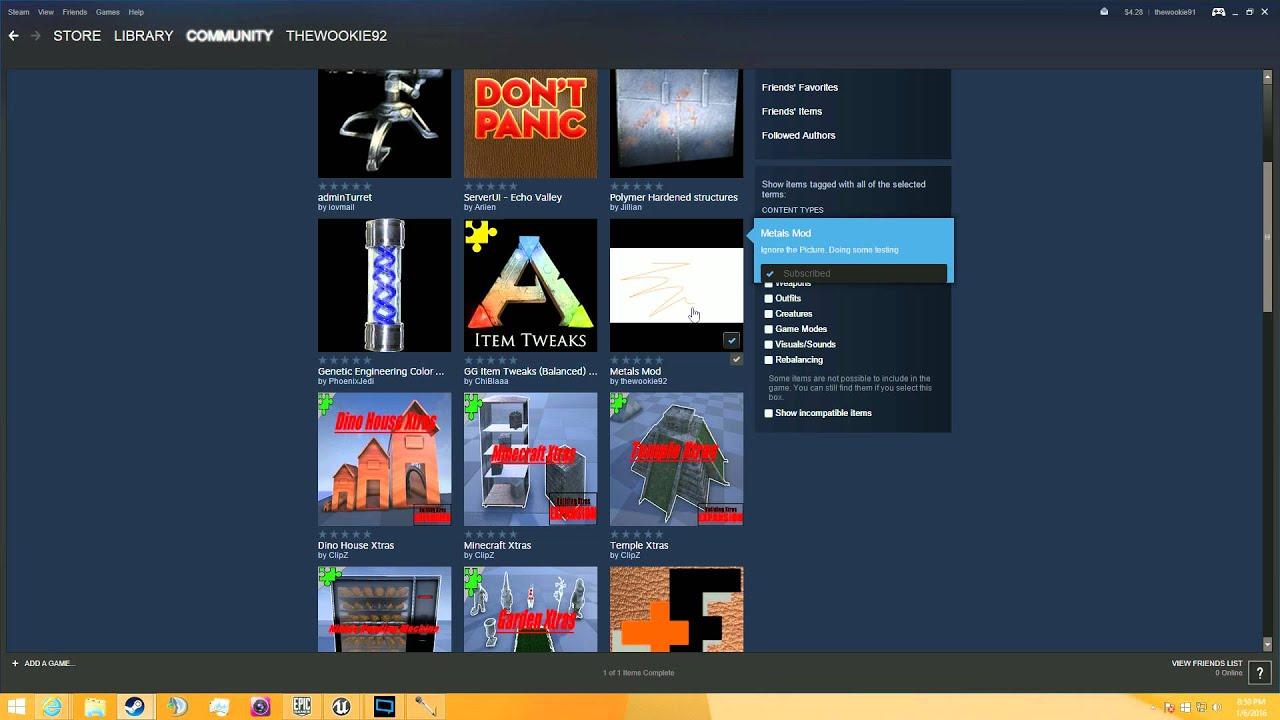 Ark Dev Kit Tutorial: 7- Exporting/Uploading your mod to steam!