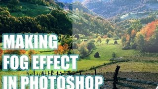 Photoshop Tutorial: Creating Fog Effect