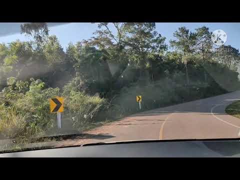 รีวิวถนนขึ้นเขตรักษาพันธุ์สัตว์ป่าภูหลวง Phu Luang  Wildlife Sanctuary Thailand