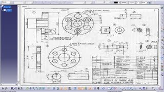 Catia V5 Tutorial|Drafting Workbench-II|Inserting Sheets in the Current File|Add revision Block