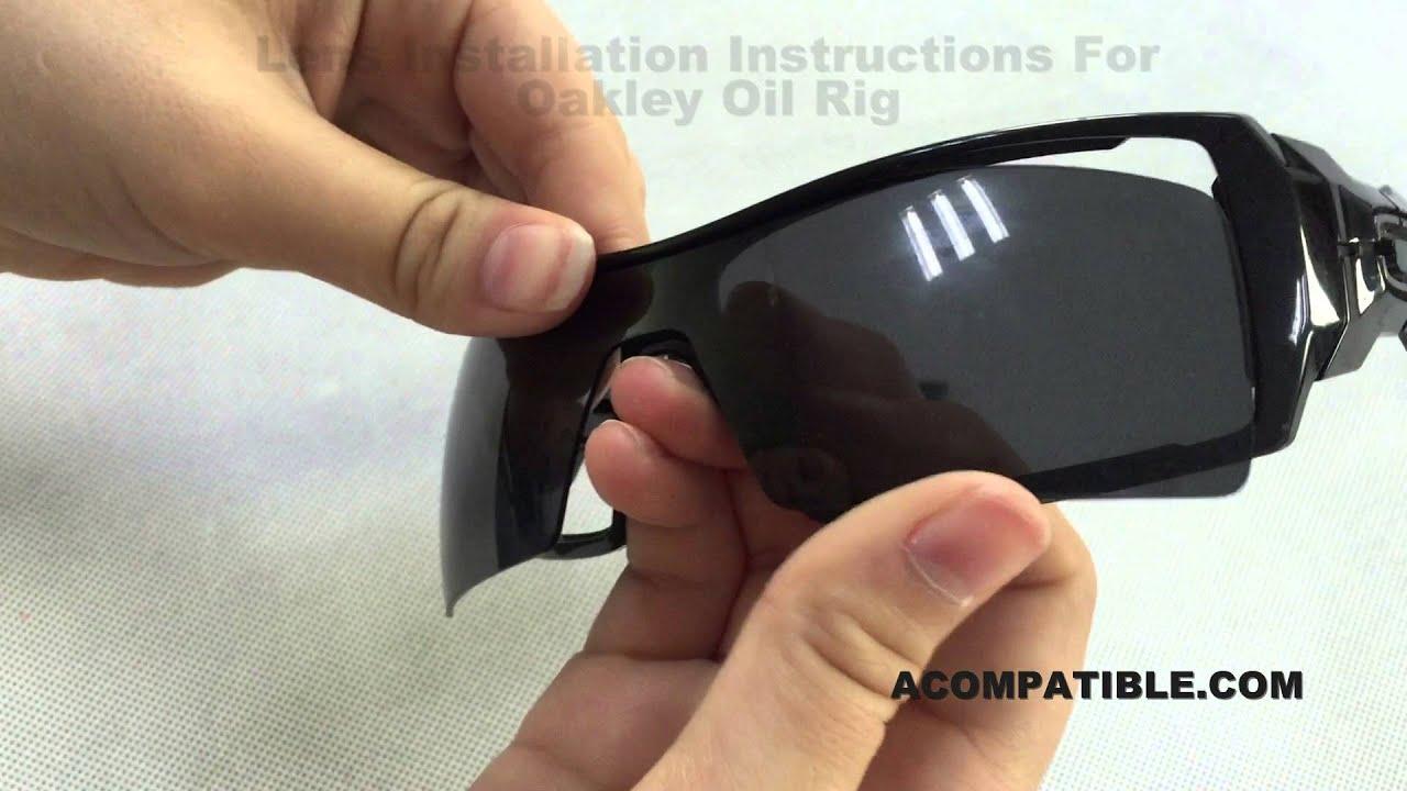 0e2a2430a14 Oil Rig Lens Replace Instruction - Acompatible.com - YouTube