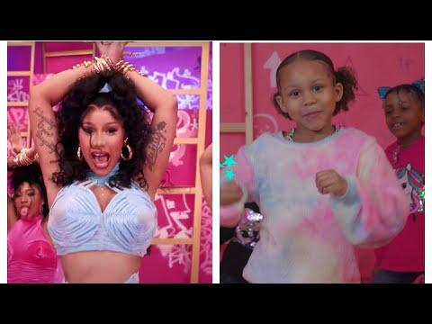 Cardi B - Up ( Official Music Video) Kids Remix