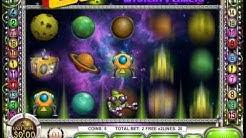 Cosmic Quest Mystery Planets Slot Machine Bonus Round