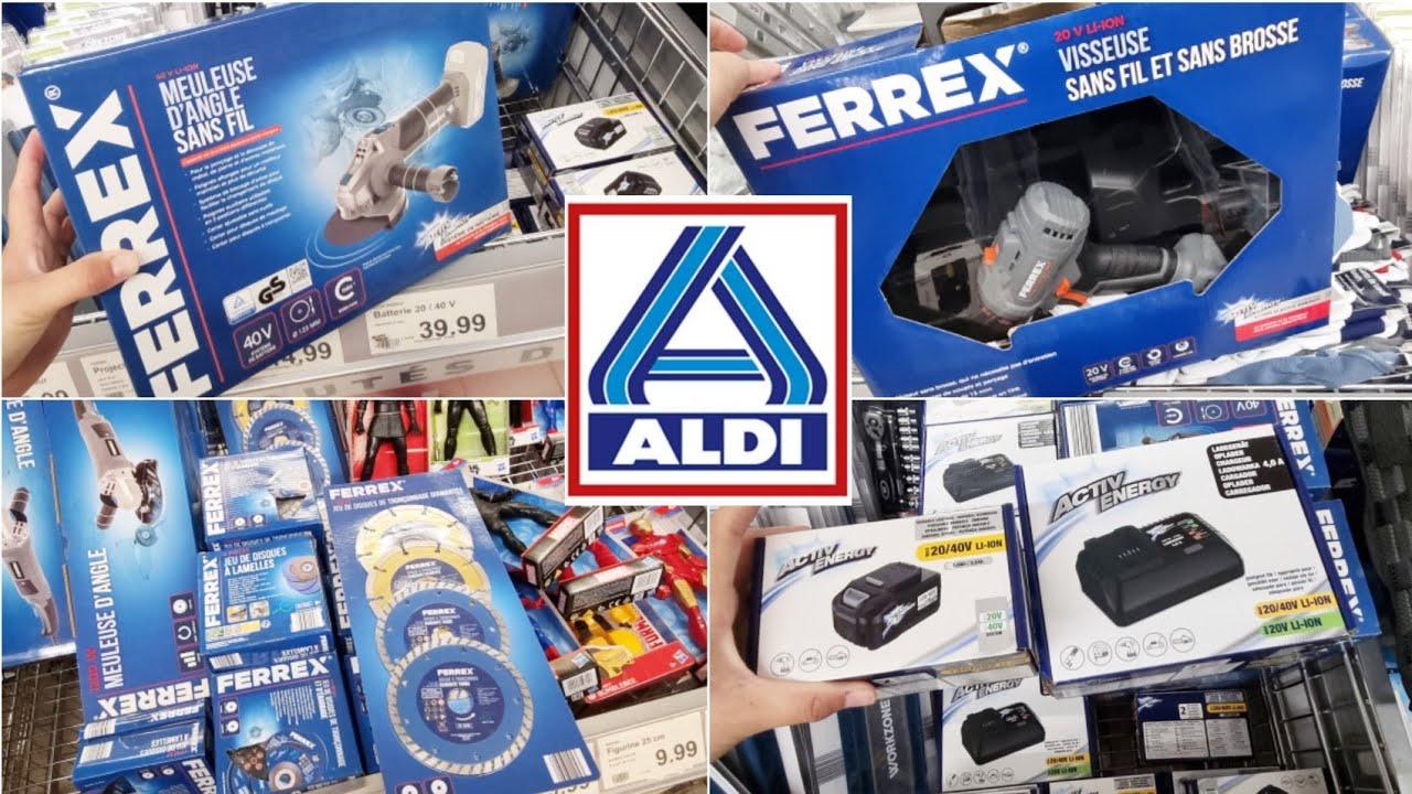 Download ALDI BRICOLAGE ARRIVAGE OUTILLAGE FERREX 18 septembre 2021