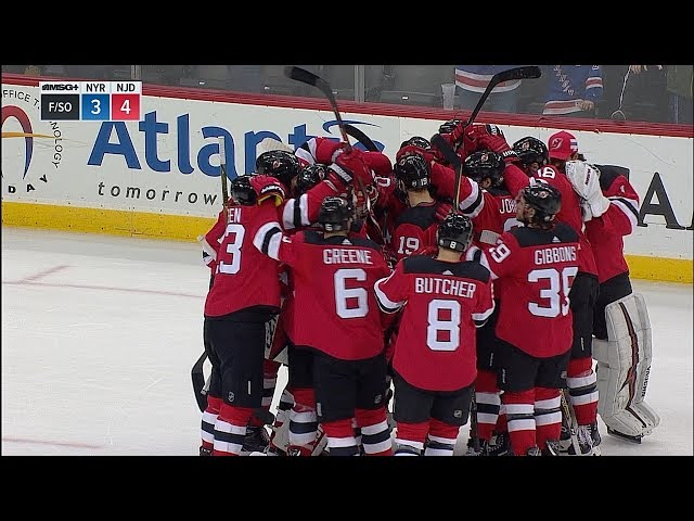 Boyle leads Devils to shootout win vs. Rangers